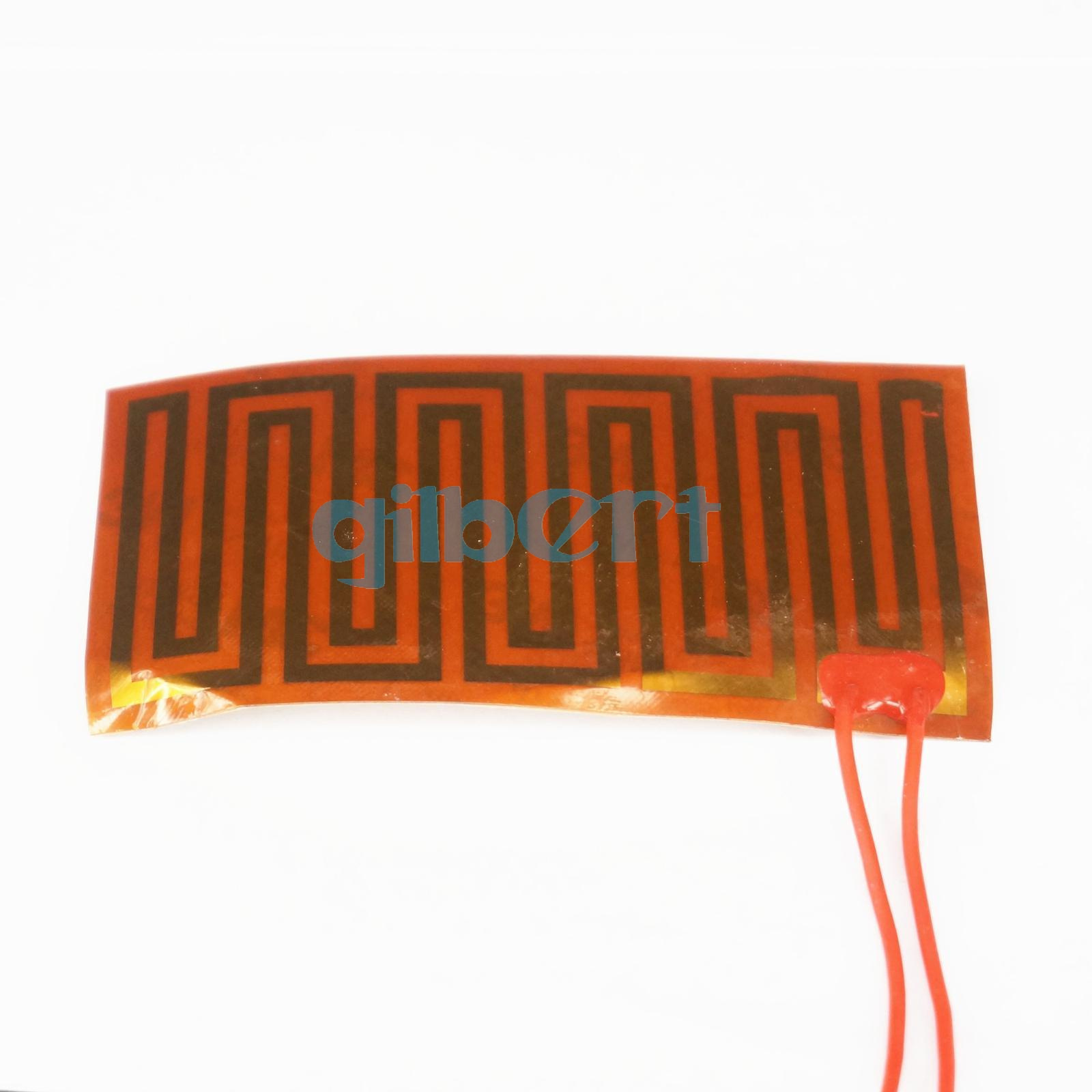 12-24V Sizes Round Eeletric Polyimide Film Heater Heating Element for 3D Printer