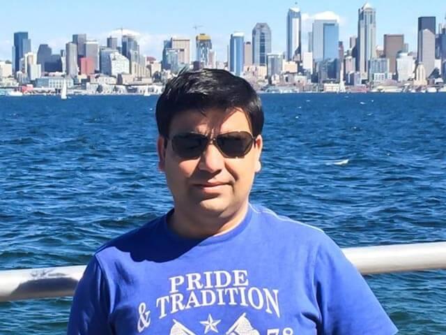 CEO Abacasys Sunil Dhawan