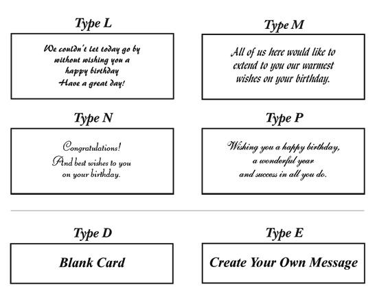 BirthdayCardMessages – Birthday Card Message