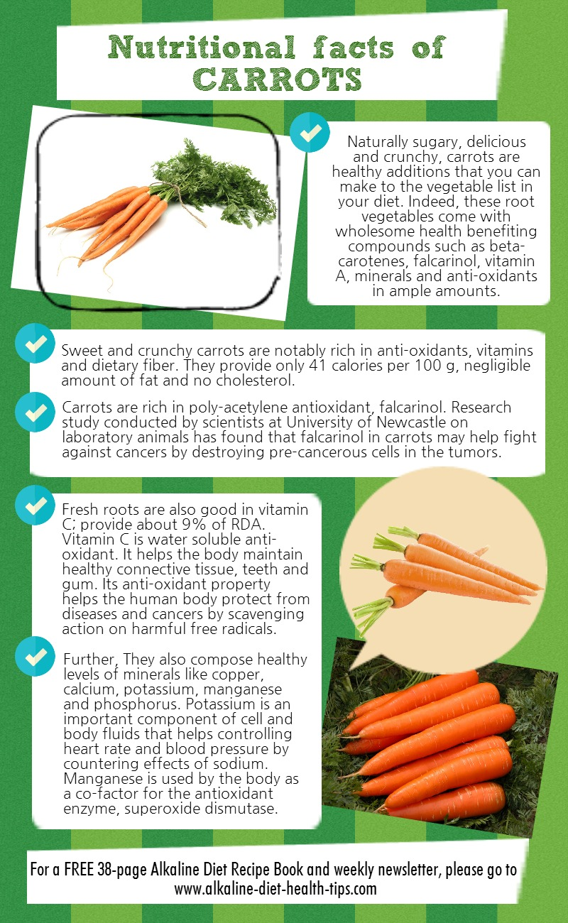 Nutritional Contents Of Carrots Nutrition Ftempo