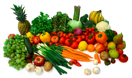 alkaline food list of fruits and vegetables