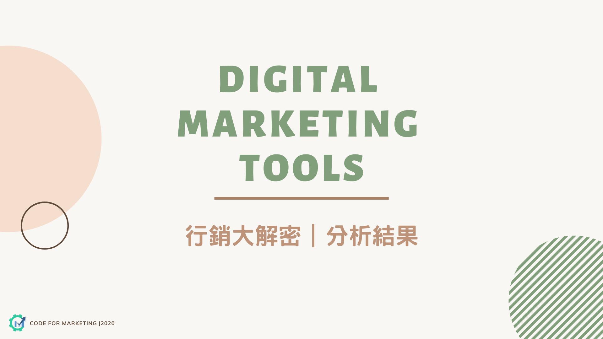 Protected: 【行銷大解密 數位行銷工具調查】分析結果