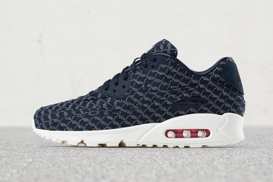 """the best attitude f669a 84e3a NIKEiD is slated to release """"Indigo"""" personalization options to a slew of  cult-favorite models. The Nike Air Force 1 Low, Air Max 1, Air Max 90 and  Air ..."""