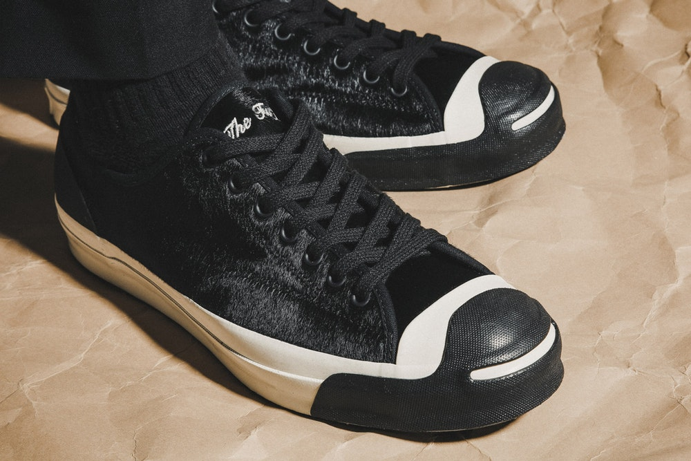 33a834ed5f0a ... pony hair but this collaboration between Converse and BornxRaised is  some next level sh t! Dropping in 2 colorways of black and camel