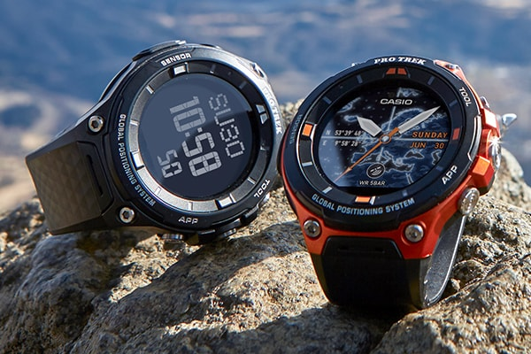 1e7ce45a4d2 Casio to Release PRO TREK Smart Outdoor Watch with Offline Maps Operates on  Wear OS by Google