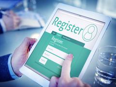 Government portal registrations