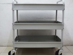 Lab trolley 3 tier