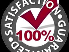 Kcs100 percent satisfaction guaranteed