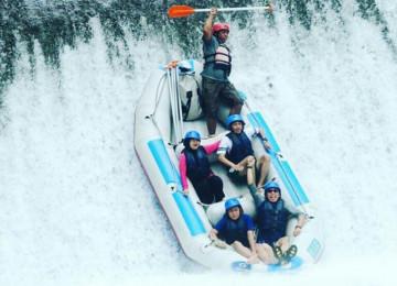 Rafting at Telaga Waja River and Kintamani Tour