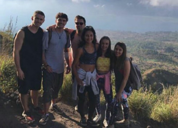 Small Group For Mount Batur Sunrise Trekking With Visit to Natural Hot Spring