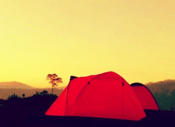Camping Tour At Foot Mount Batur Bali