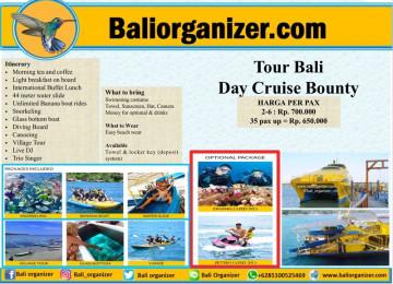 Tour BaliDay Cruise Bounty