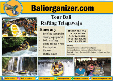 Tour BaliRafting Telagawaja