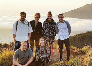 Group Tour For Mount Batur Sunrise Trekking Package