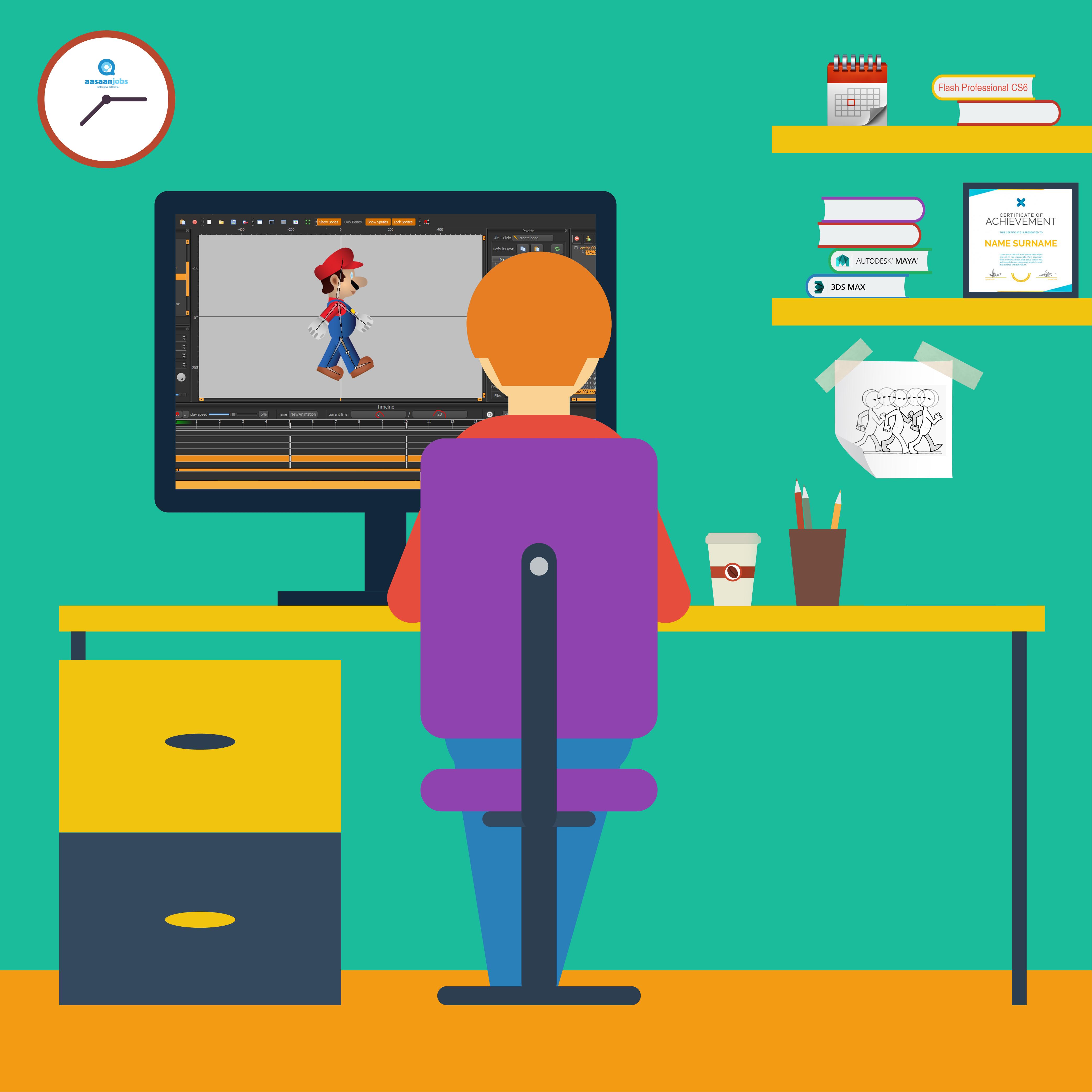 Animation - Career, Salary And Job Openings