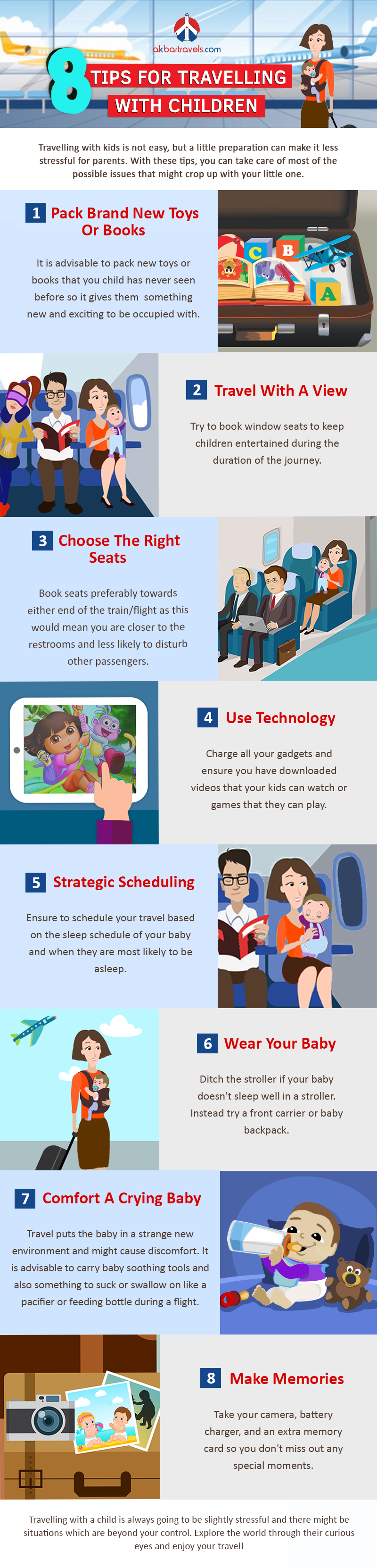 8 Tips For Travelling With Children