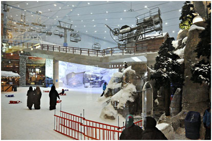 Ski Resort in the Mall of Emirates