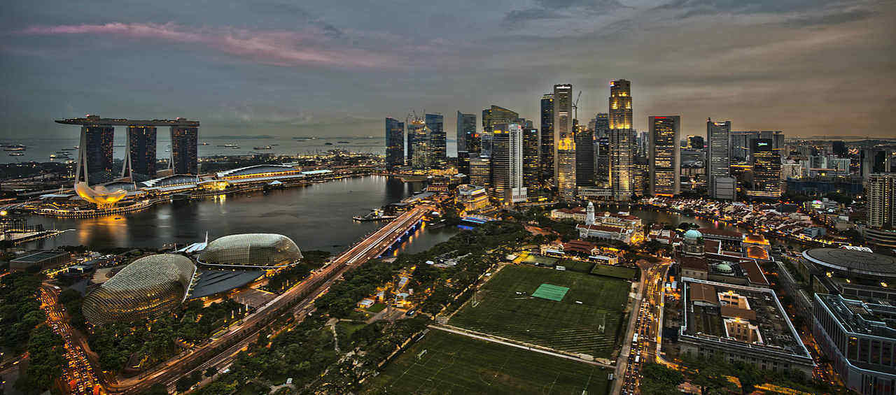Charming Singapore (Land Only)