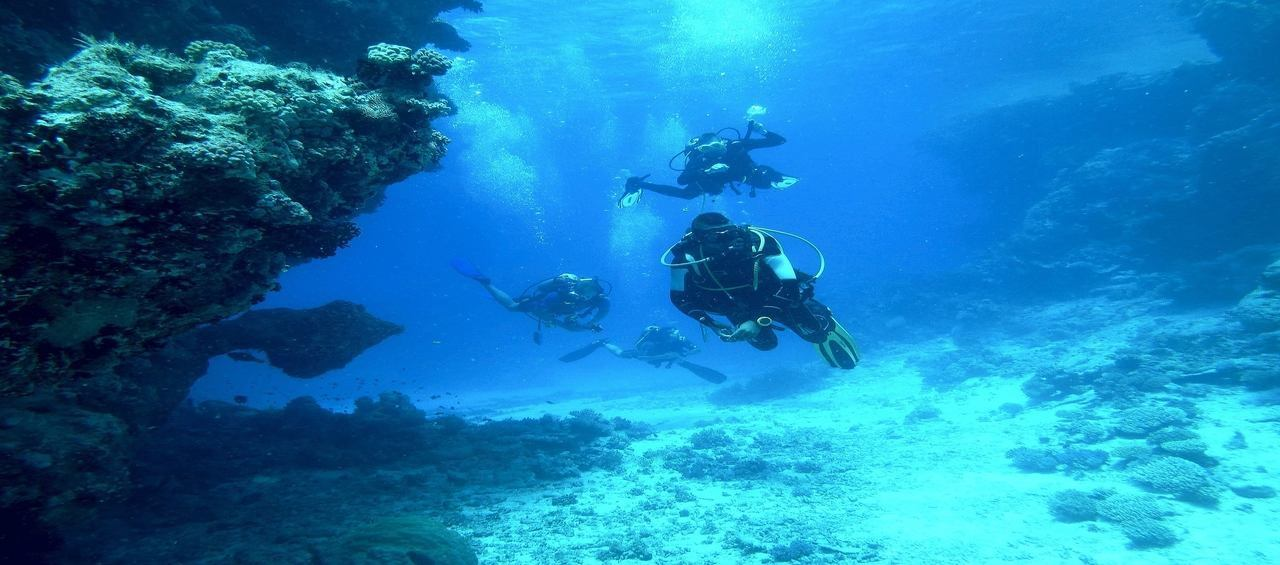Scuba diving in havelock island ( ANDAMAN )