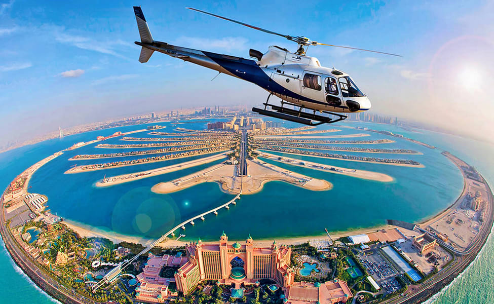Iconic Dubai with Helicopter Ride