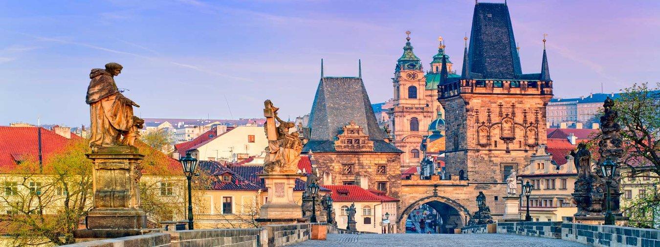 Berlin and Prague