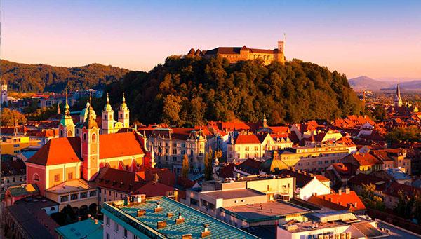 Croatia Bosnia and Slovenia