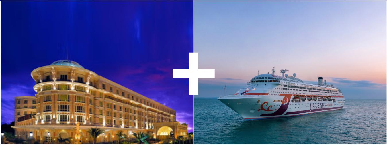 ITC Hotel + 2 Nights Mumbai-High Seas-Mumbai Jalesh Cruise