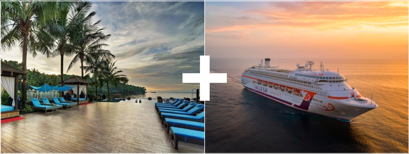 Mayfair Hotel + 3 Nights Jalesh Cruise to Mumbai