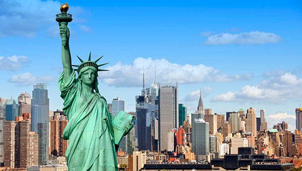 USA Panorama  East and West Coast