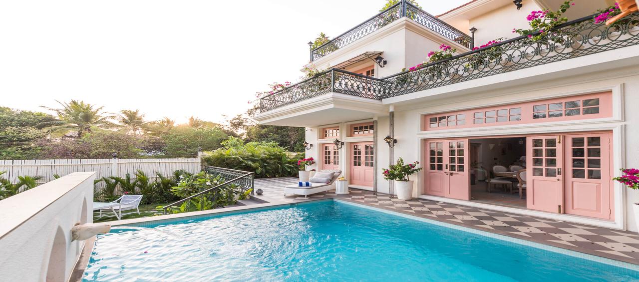 Luxury 3 - BHK Villa by Lohono - Goa