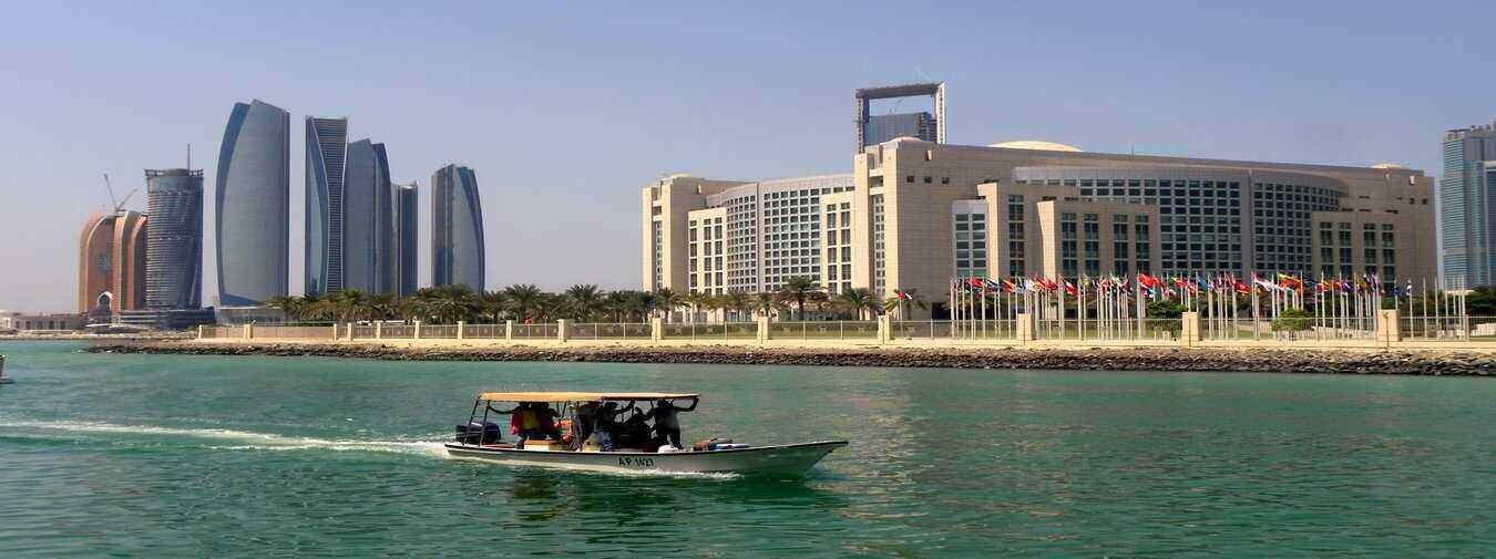 Luxury in Abu Dhabi with Emirates Palace