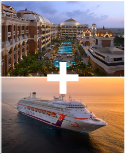 ITC Hotel + 3 Nights Jalesh Cruise to Sri Lanka