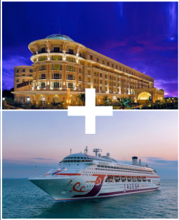 ITC Hotel + 2 Nights Mumbai-High Seas-Mumbai Jalesh Cruise