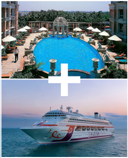 ITC Hotel + 3 Nights Jalesh Cruise to Goa