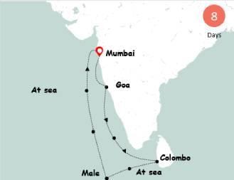 Jalesh Cruise – Book Mumbai to Goa Cruise with Akbar Travels | akbartravels.com