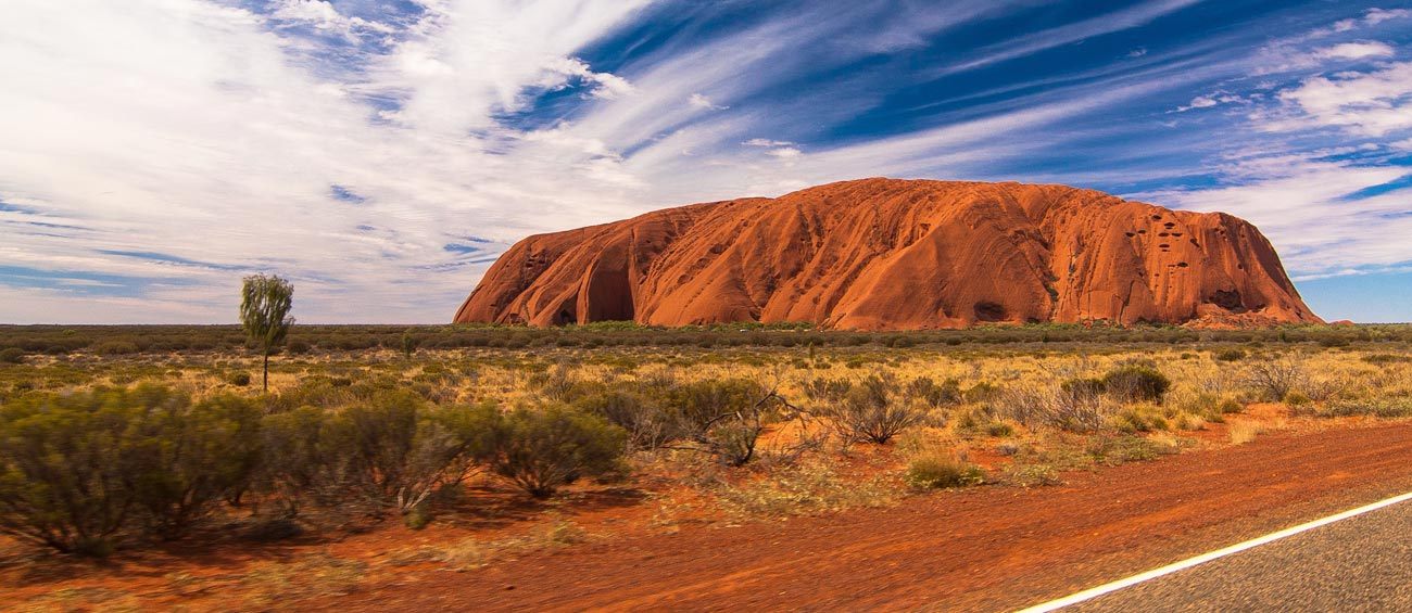 Walk around Ayers Rock