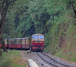 Toy train from Kalka to Shimla