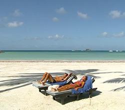 Sunbathing On The Beaches