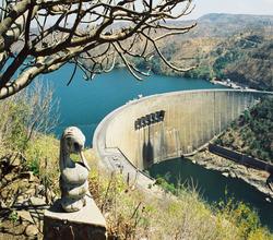 Houseboat on Kariba Dam