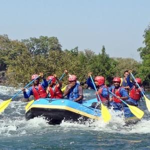 River rafting in Dubare/Dandeli