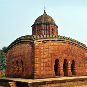 The Temple at Bishnupur