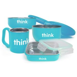 Thinkbaby The Complete BPA Free Feeding Set Light Blue