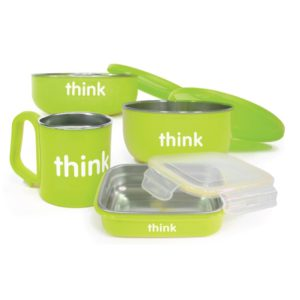 Thinkbaby The Complete BPA Free Feeding Set Apple Green