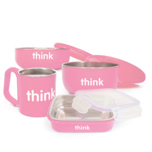 Thinkbaby The Complete BPA Free Feeding Set Pink
