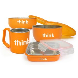 Thinkbaby The Complete BPA Free Feeding Set Orange