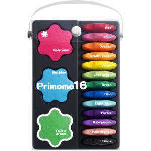 Primomo Flower Non-Toxic Crayons