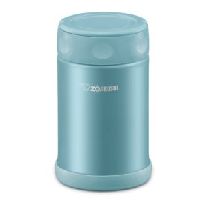 Zojirushi Stainless Steel Food Jar 0.5L - Aqua Blue (EAE50)