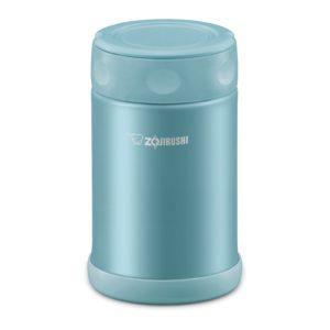 Zojirushi Stainless Steel Food Jar 0.5L - Aqua Blue (EAE50)