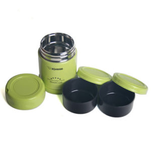 【Zojirushi】Stainless Steel Food Jar 0.35L