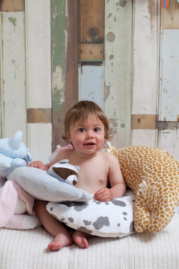 Angel Dear Curved Pillow Giraffe